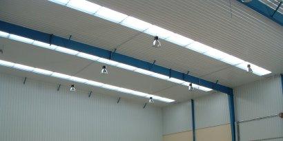 In Situ Sandwich Panel Roofs Anuri Steel Buildings